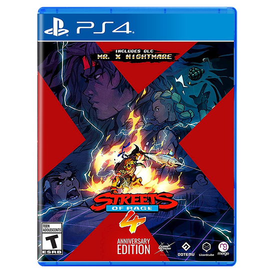 Streets of Rage 4 - Anniversary Edition for PlayStation 4Streets of Rage 4 - Anniversary Edition for PlayStation 4