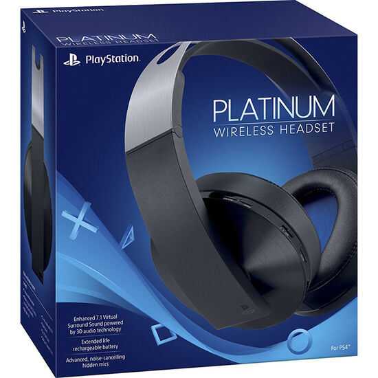 PS4 Platinum Wireless HeadsetPS4 Platinum Wireless Headset