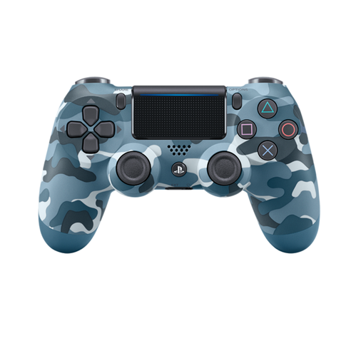 PS4 Controller D. Shock - Blue Camo