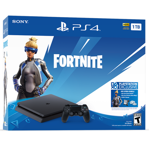 PS4 System: Fortnite Neo Versa Bundle
