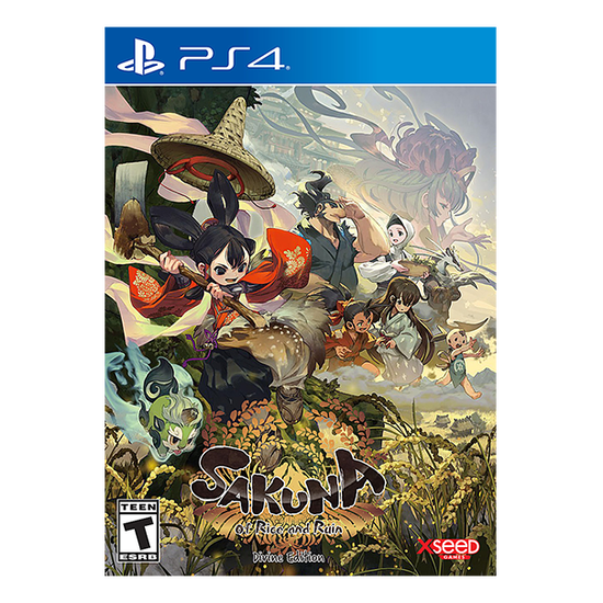 Sakuna: Of Rice and Ruin - Devine Edition for PlayStation 4Sakuna: Of Rice and Ruin - Devine Edition for PlayStation 4