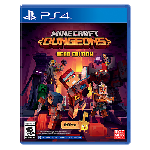 Minecraft Dungeons - Hero Edition for PlayStation 4