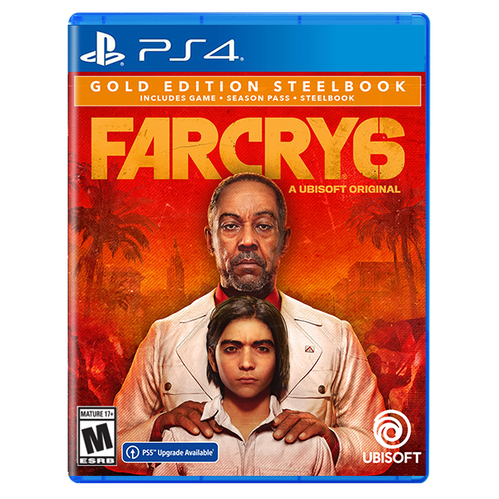 Far Cry 6 SteelBook Gold Edition for PlayStation 4
