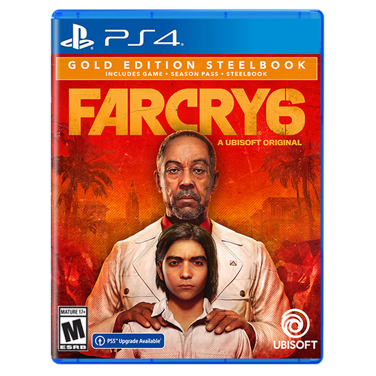 Far Cry 6 SteelBook Gold Edition for PlayStation 4Far Cry 6 SteelBook Gold Edition for PlayStation 4