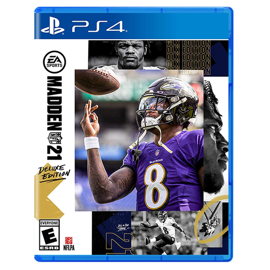 Madden NFL 21 - Deluxe Edition for PlayStation 4Madden NFL 21 - Deluxe Edition for PlayStation 4