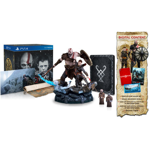 PS4 God of War: Collector's Edition