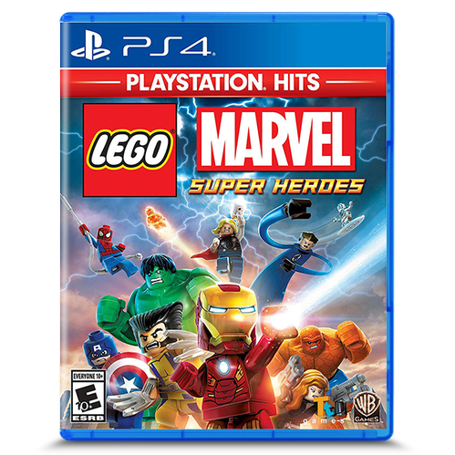 Lego Marvel Super Heroes PlayStation Hits for PlayStation 4