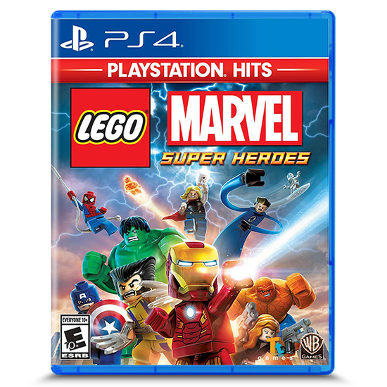 Lego Marvel Super Heroes PlayStation Hits for PlayStation 4Lego Marvel Super Heroes PlayStation Hits for PlayStation 4