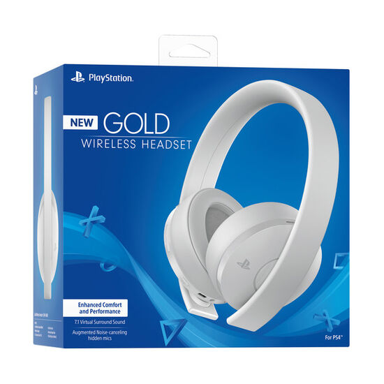 PS4 Gold Wireless Gaming Headset - WhitePS4 Gold Wireless Gaming Headset - White