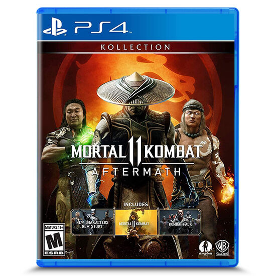 Mortal Kombat 11: Aftermath Kollection for PlayStation 4Mortal Kombat 11: Aftermath Kollection for PlayStation 4