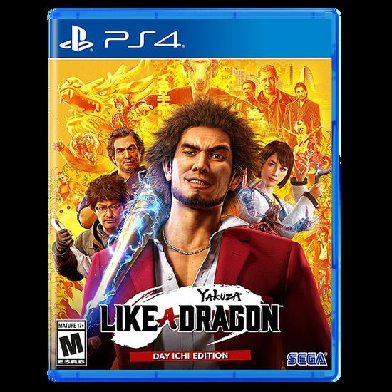 Yakuza: Like a Dragon - Day One Edition for PlayStation 4Yakuza: Like a Dragon - Day One Edition for PlayStation 4
