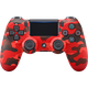 DUALSHOCK 4 Wireless Controller for PS4 - Red Camo