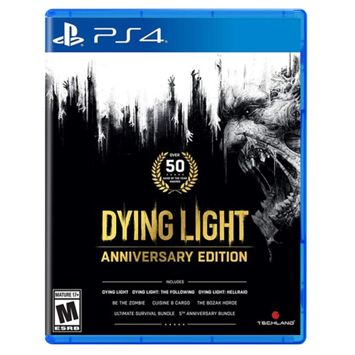 Dying Light Anniversary Edition for PlayStation 4