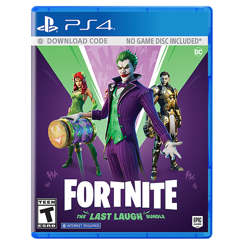 Fortnite: The Last Laugh Bundle for PlayStation 4