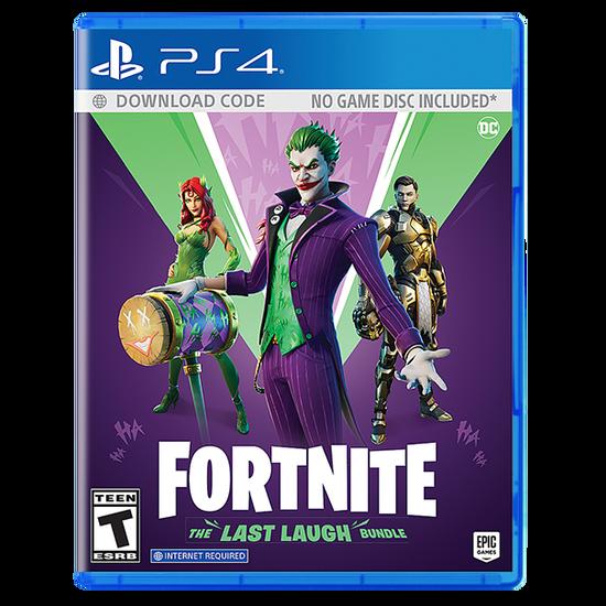 Fortnite: The Last Laugh Bundle for PlayStation 4Fortnite: The Last Laugh Bundle for PlayStation 4