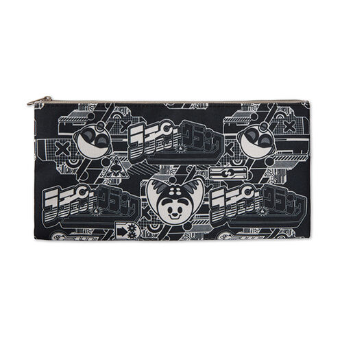 Ratchet and Clank Zippered Pouch Black/White