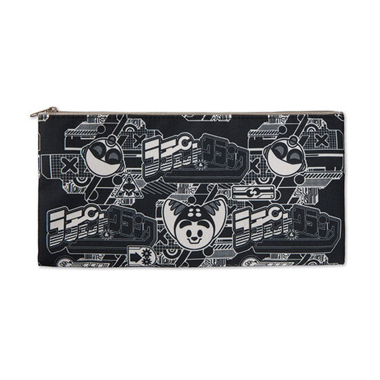 Ratchet and Clank Zippered Pouch Black/WhiteRatchet and Clank Zippered Pouch Black/White