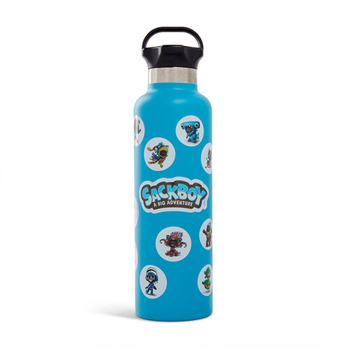 Sackboy 24oz Ascent Water Bottle Matte Aqua