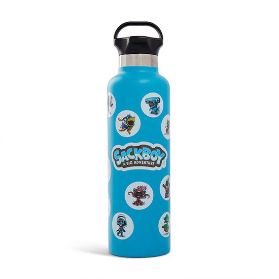 Sackboy 24oz Ascent Water Bottle Matte AquaSackboy 24oz Ascent Water Bottle Matte Aqua