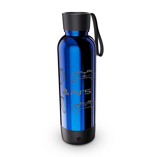 PS5 22oz Lite Up Water Bottle BluePS5 22oz Lite Up Water Bottle Blue