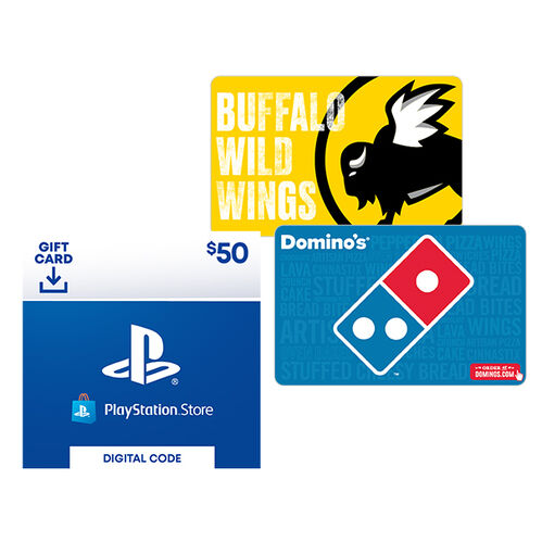 Sweeps Prize 5: Play & Eat Gift Card Bundle Entry