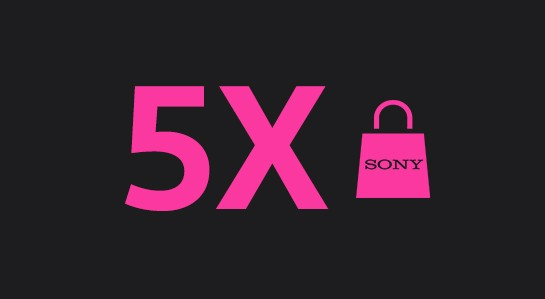 5X Sony products