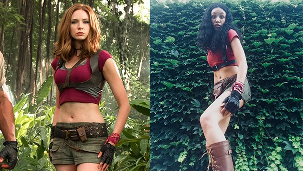 "Jordan B., Ruby Roundhouse from ""Jumanji: Welcome to the Jungle"""