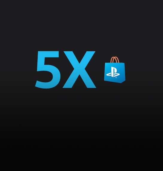 5X PlayStation™Store