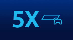 5X PlayStation® & Sony products