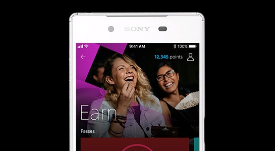 Sony Rewards Mobile App