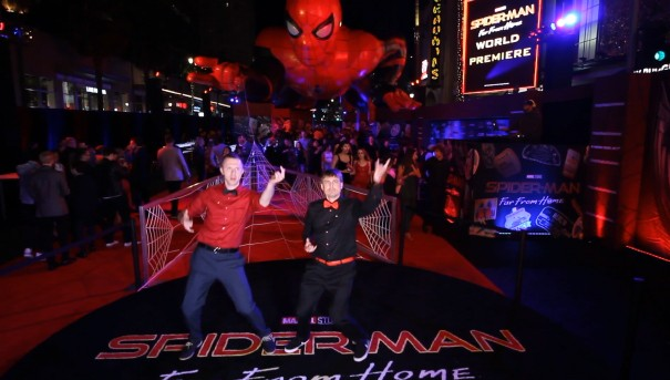 Spider-Man: Far From Home Premiere Experience Winner